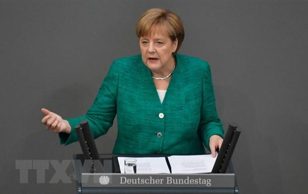 Ba Merkel: Dat nhat tri ve van de di cu song EU van ton tai bat dong hinh anh 1