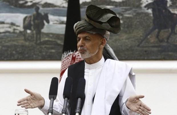 Tong thong Afghanistan tuyen bo cham dut lenh ngung ban voi Taliban hinh anh 1