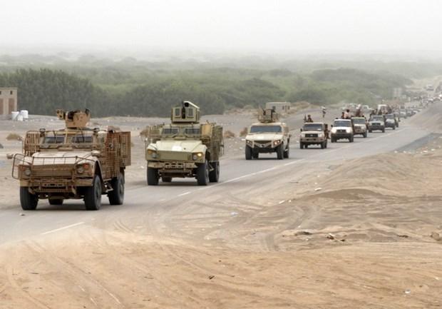 Yemen: Lien quan Saudi Arabia tan cong phien quan ben ngoai Hodeida hinh anh 1