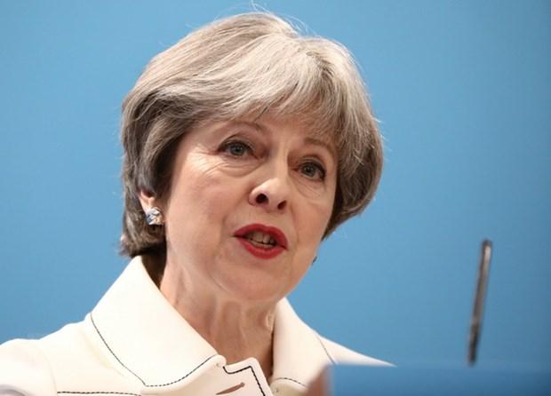 Thu tuong Anh Theresa May keu goi su dong thuan trong noi cac hinh anh 1