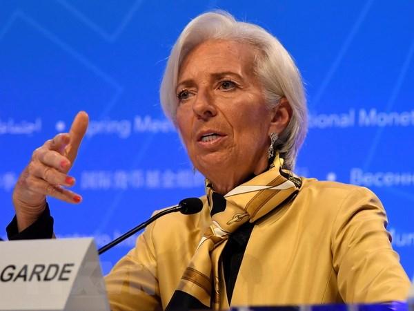 IMF: My de bi ton thuong truoc tac dong cua chien tranh thuong mai hinh anh 1