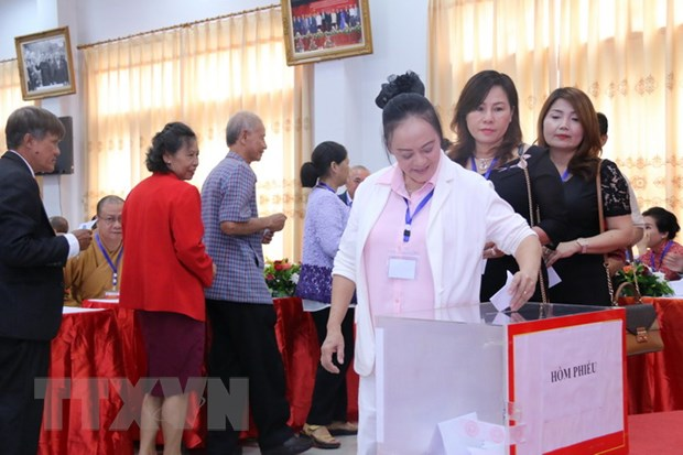 Hoi nguoi Viet Nam tai Vientiane to chuc thanh cong Dai hoi khoa X hinh anh 2