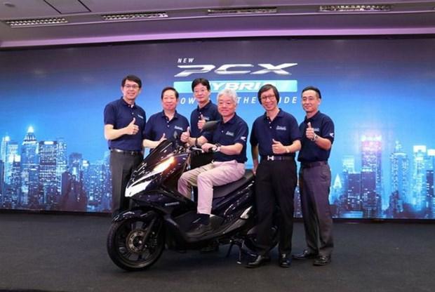 Honda va Yamaha dat cuoc vao cac mau xe may hybrid tai Thai Lan hinh anh 1