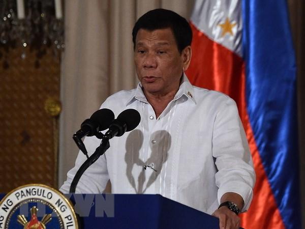 Tong thong Philippines bat ngo ra tuyen bo chi trich Trung Quoc hinh anh 1