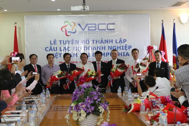 Ra mat Cau lac bo Doanh nghiep Viet Nam tai Campuchia hinh anh 1