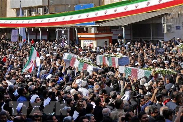Iran canh bao se manh tay doi voi thu pham tan cong le dieu binh hinh anh 1