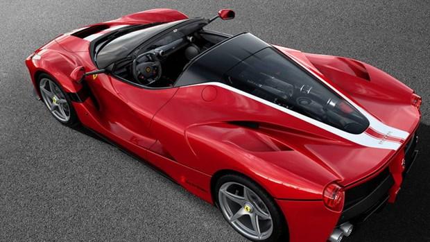 Hang xe the thao sieu sang Ferrari don luc cho dong xe hybrid hinh anh 1