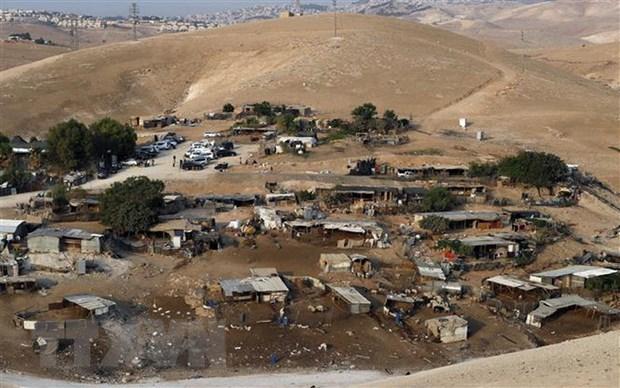 Israel hoan ke hoach pha huy lang cua nguoi Bedouin o Bo Tay hinh anh 1
