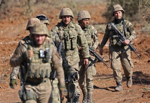 Luc luong Tho Nhi Ky tan cong luc luong nguoi Kurd tai Syria hinh anh 1
