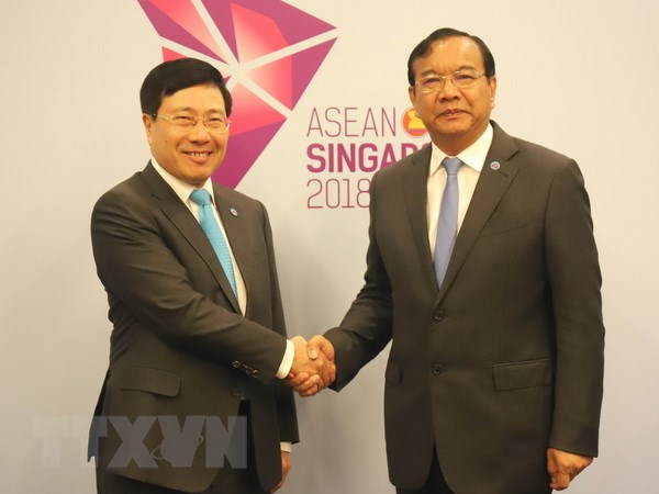 Pho Thu tuong Pham Binh Minh tham du cac hoi nghi APSC va ACC hinh anh 1