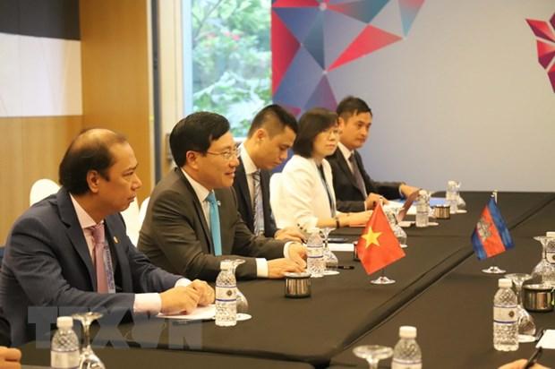 Pho Thu tuong Pham Binh Minh tham du cac hoi nghi APSC va ACC hinh anh 2