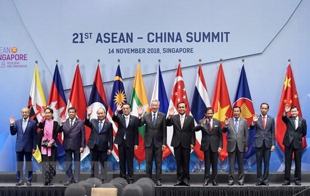 Thu tuong Nguyen Xuan Phuc du cac Hoi nghi Cap cao ASEAN va doi tac hinh anh 1
