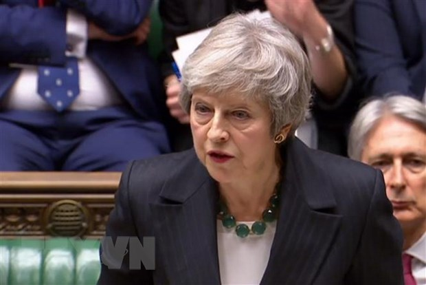 Thu tuong Anh Theresa May loai tru kha nang to chuc bo phieu tin nhiem hinh anh 1
