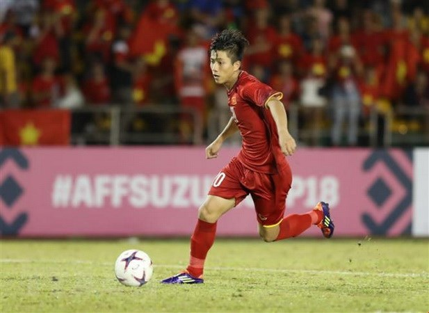 AFF Suzuki Cup: Phan Van Duc la Cau thu hay nhat tran VN-Philippines hinh anh 1