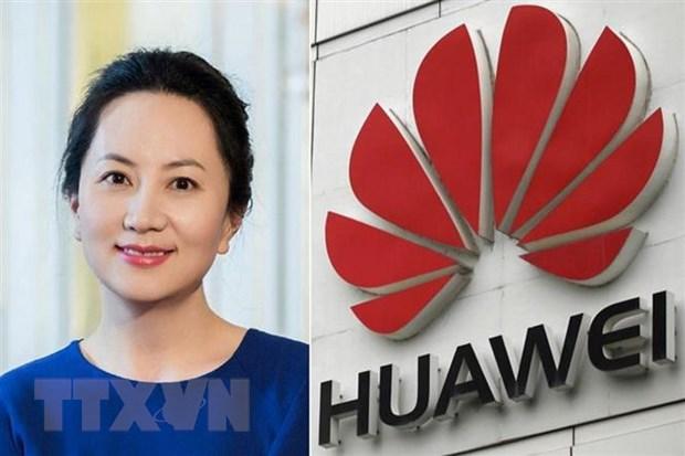 Trung Quoc trieu Dai su Canada phan doi vu bat giu CFO Huawei hinh anh 1
