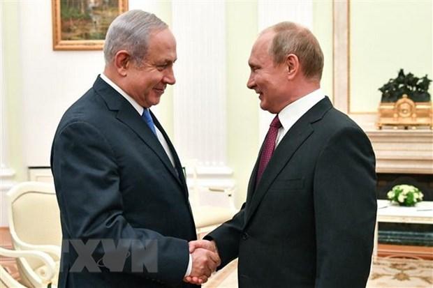 Nga-Israel dien dam ve hoat dong quan su o vung bien giap Liban hinh anh 1