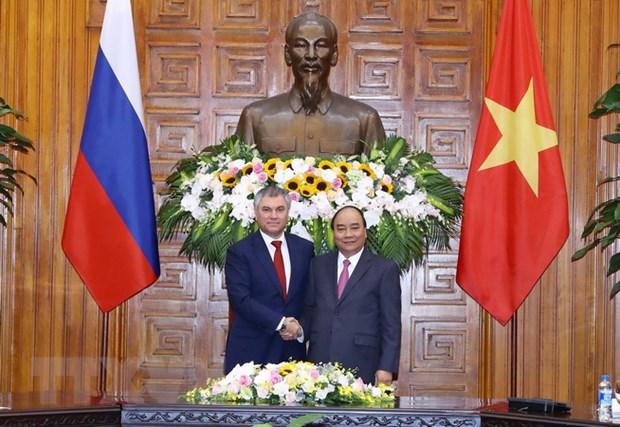 Viet Nam-Nga luon ke vai, sat canh ung ho nhau trong moi hoan canh hinh anh 1