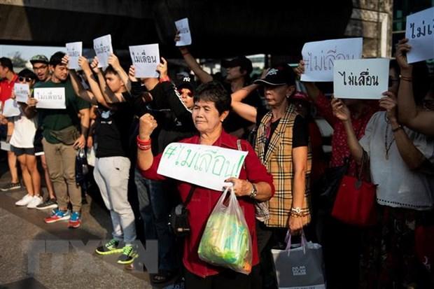 Thai Lan: Tuan hanh o thu do Bangkok phan doi hoan tong tuyen cu hinh anh 1