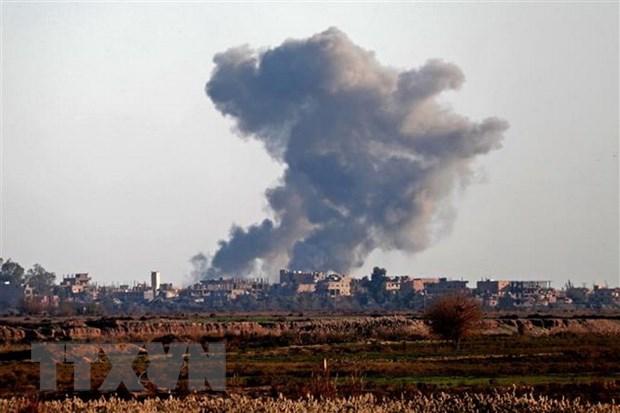 Nha nuoc Hoi giao danh bom lieu chet nham vao SDF tai Syria hinh anh 1