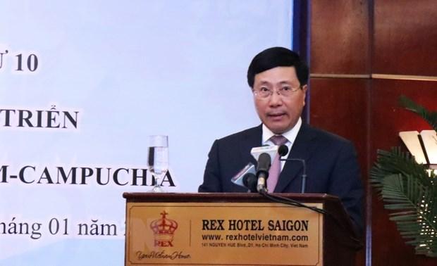 Thong cao chung ve hop tac-phat trien bien gioi Viet Nam-Campuchia hinh anh 2