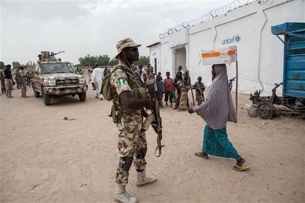 Quan doi Nigeria gianh lai khu vuc chien luoc tu tay Boko Haram hinh anh 1