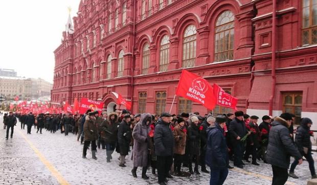 Nga ky niem 95 nam ngay mat lanh tu vo san Vladimir Ilyich Lenin hinh anh 1