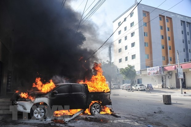Somalia: Danh bom xe gan tru so Bo Dau mo, nhieu nguoi thuong vong hinh anh 1