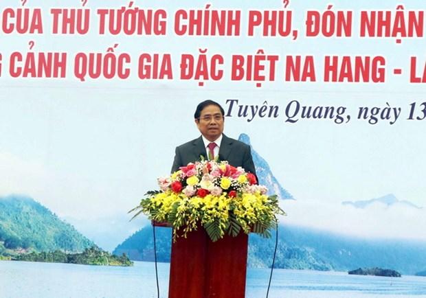 Ong Pham Minh Chinh du le phat dong thi dua tai tinh Tuyen Quang hinh anh 1