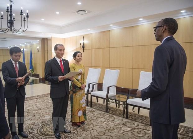 Rwanda mong muon thuc day hon nua quan he hop tac voi Viet Nam hinh anh 1