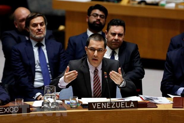 Venezuela keu goi doi thoai giua lanh dao My va Venezuela hinh anh 1