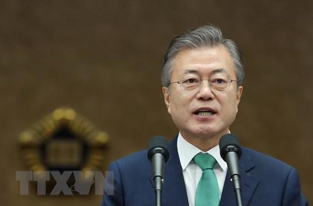 Tong thong Han Quoc tai khang dinh vai tro cua hop tac voi ASEAN hinh anh 1