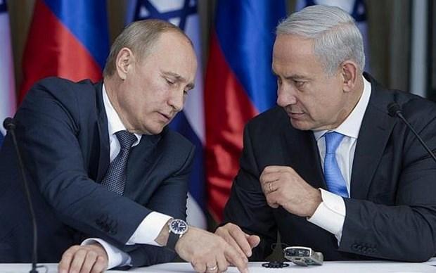 Lanh dao Nga va Israel thao luan ve quan he quan su va Trung Dong hinh anh 1