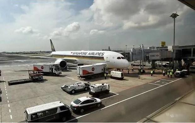 Singapore Airlines tam ngung khai thac hai may bay Boeing 787-10 Dream hinh anh 1