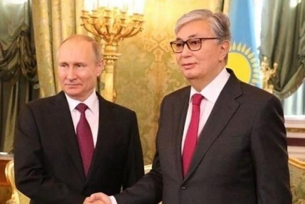 Nga va Kazakhstan thuc day hop tac quan su, dien hat nhan hinh anh 1