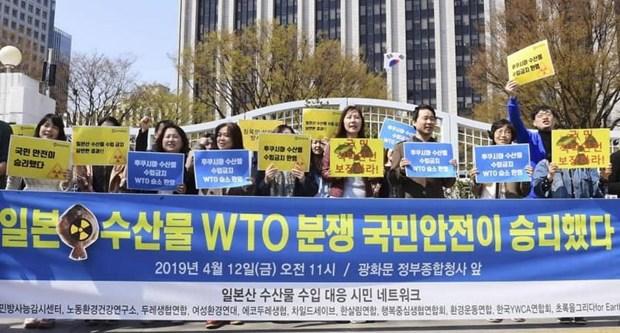 WTO dao nguoc phan quyet viec Han Quoc cam nhap khau hai san Nhat Ban hinh anh 1