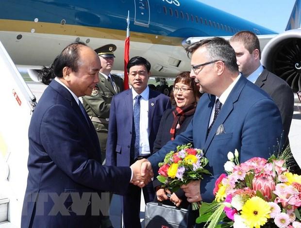 Hinh anh Thu tuong Nguyen Xuan Phuc tham chinh thuc Cong hoa Sec hinh anh 2
