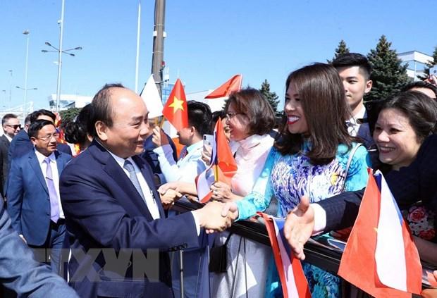 Hinh anh Thu tuong Nguyen Xuan Phuc tham chinh thuc Cong hoa Sec hinh anh 3