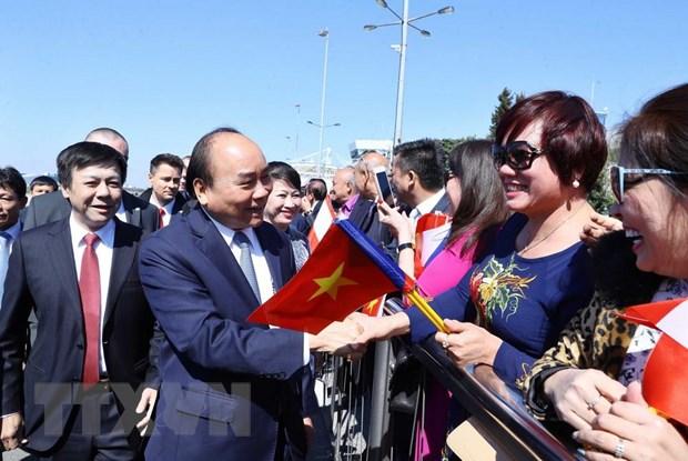 Hinh anh Thu tuong Nguyen Xuan Phuc tham chinh thuc Cong hoa Sec hinh anh 4