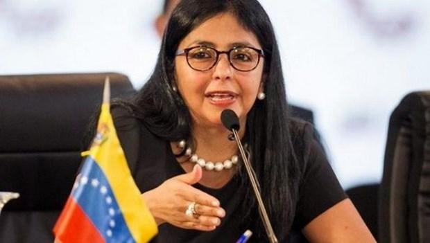 Pho Tong thong Venezuela Rodriguez keu goi nguoi dan canh giac hinh anh 1