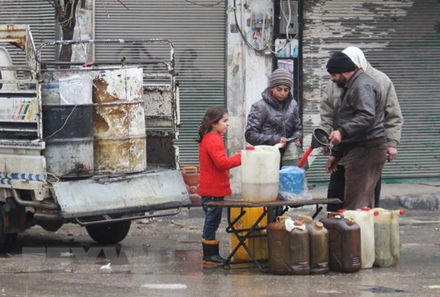 Syria: Nhieu to chuc vien tro phai ngung hoat dong do bao luc gia tang hinh anh 1