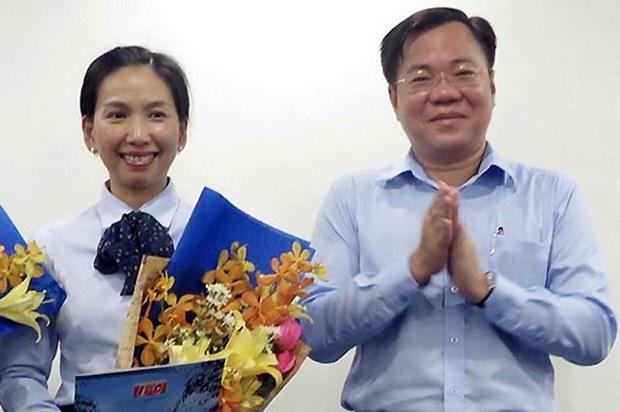 Khoi to, tam giam Ho Thi Thanh Phuc, Tong giam doc Cong ty Nam Sai Gon hinh anh 1