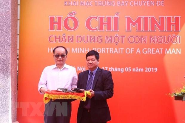 """Khai mac trung bay ve """"Ho Chi Minh-Chan dung mot con nguoi"""" hinh anh 5"""