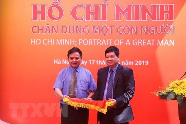 """Khai mac trung bay ve """"Ho Chi Minh-Chan dung mot con nguoi"""" hinh anh 6"""