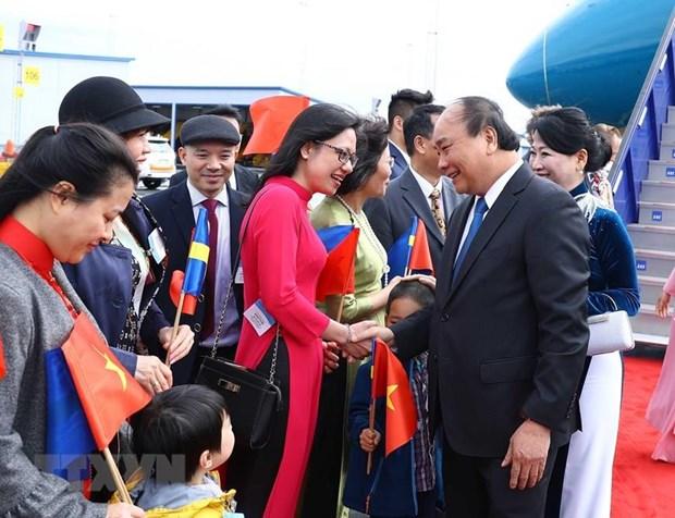Thu tuong Nguyen Xuan Phuc bat dau tham chinh thuc Thuy Dien hinh anh 2