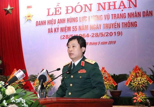 Cuc Doi ngoai Bo Quoc phong nhan danh hieu Anh hung Luc luong vu trang hinh anh 2