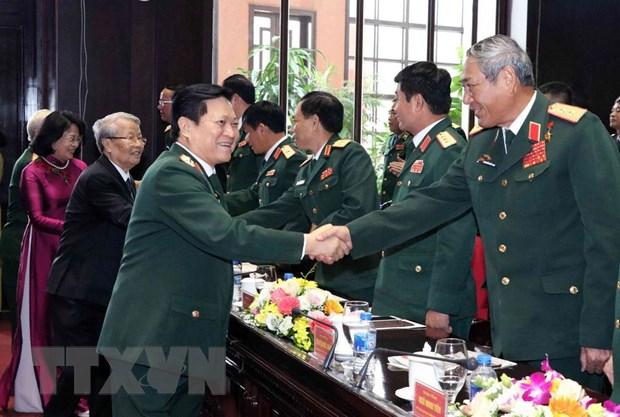 Cuc Doi ngoai Bo Quoc phong nhan danh hieu Anh hung Luc luong vu trang hinh anh 5