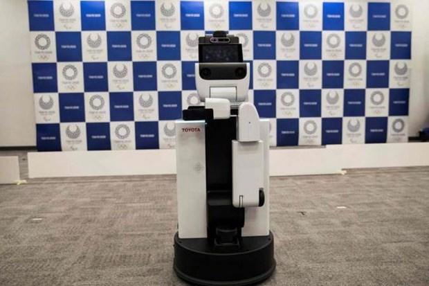 Nhat Ban lan dau tien su dung robot tuan tra an ninh tai san bay hinh anh 1