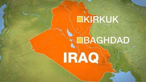 Iraq: Hang chuc nguoi thuong vong trong loat vu no o thanh pho Kirkuk hinh anh 1