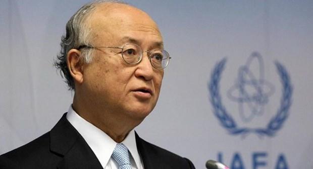 Tong Giam doc IAEA hoi thuc cac cuong quoc doi thoai voi Iran hinh anh 1