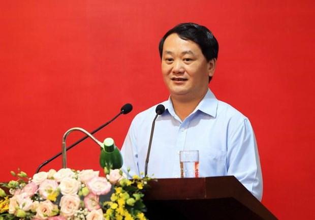 Ong Do Viet Anh tai dac cu Chu tich Uy ban MTTQ Viet Nam Ninh Binh hinh anh 1
